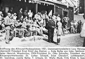 Eröffnung 1931